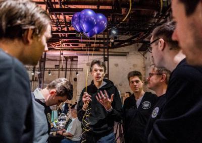 Blockchaingers Hackathon 2018 Balloons
