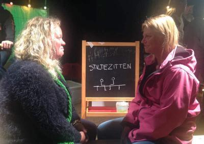 Stiltezitten Noorderzon Eye Gazing