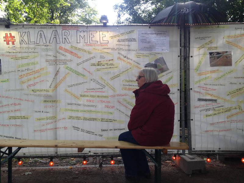 Het is 2030. Hoe leven we samen? Mijn ideaalplaatje voor Groningen.