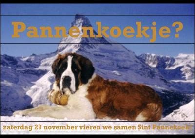 Uitnodiging Sint Pannekoek