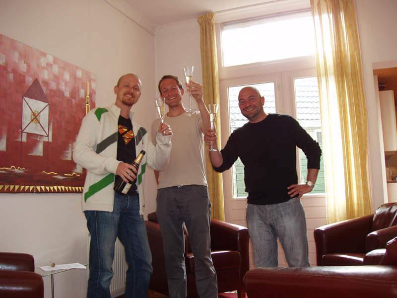Champagne bij De Ondernemers