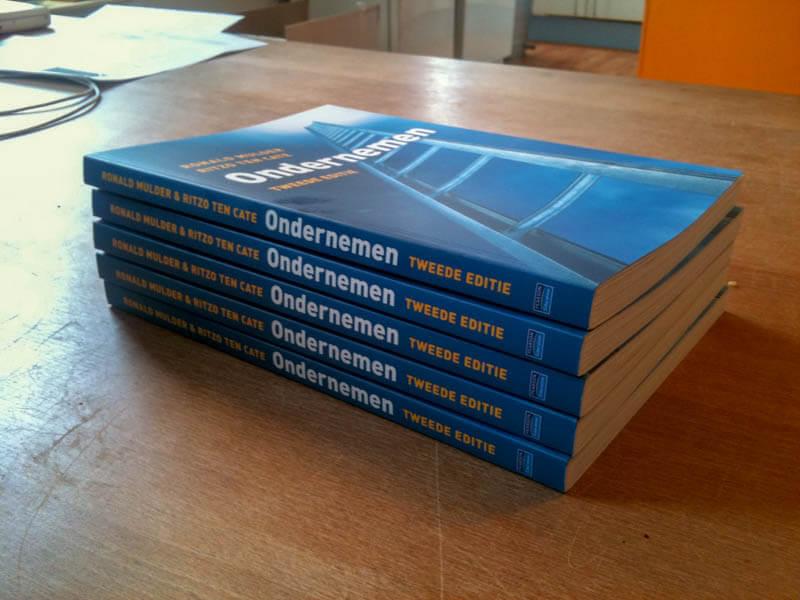 Tweede editie Boek Ondernemen Pearson Education