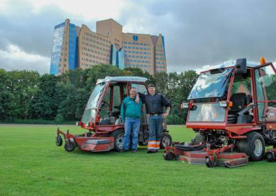 Gasunie greenkeepers drafbaan golf