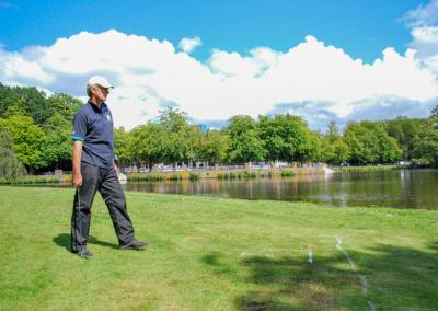 Afslag Rabobank Stadspark Open Golf