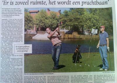 Golf Stadspark Groningen Rabobank Krant