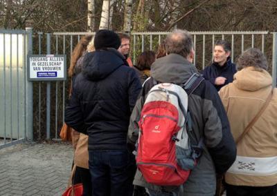 Daklozenwandeling Bornholmstraat Tippelzone Groningen