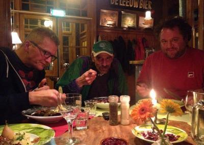 Eten diner daklozen Groningen