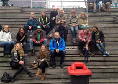 Daklozenwandeling Grote Markt Groningen