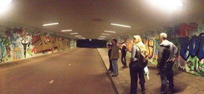Hoe laten we nog meer dames ook 's avonds met een veilig gevoel door de tunneltjes tussen stad en Vinkhuizen fietsen?