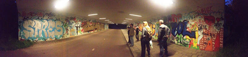 Tunneltjestocht Veranderlab Veiligheid