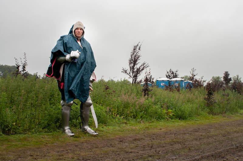 Fotoserie Ridders in Kikkerland